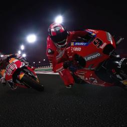 MotoGP 19 mod Gameplay 4k - Jorge Lorenzo honda