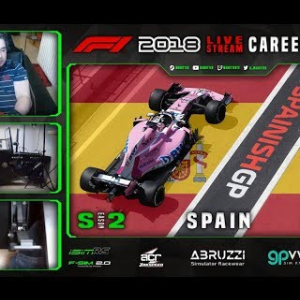 F1 2018 LIVE Career Mode #26 Barcelona, Spain (S2)