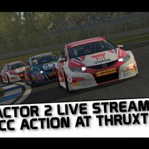 rFactor 2 BTCC live streaming from Thruxton
