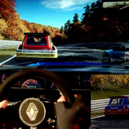 pC2 - Nordschleife - Renault 5 Maxi Turbo- 100% AI race