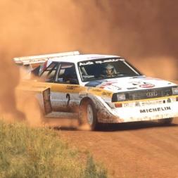 DiRT Rally 2.0 | Audi Sport Quattro S1 E2 | Australia SS Rockton Plains 3:16.542 WORLD RECORD