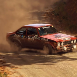 DiRT Rally 2.0 | Ford Escort Mk II | USA SS North Fork Pass 6:34.856