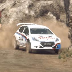 DiRT Rally 2.0 | Peugeot 208 T16 R5 | Argentina SS Huillaprima 3:00.705