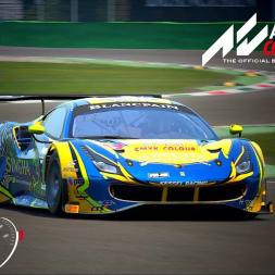 Ferrari 488 GT3 Onboard and TV at Monza - Assetto Corsa Competizione