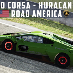 Assetto Corsa - Huracan Super Trofeo EVO @ Road America