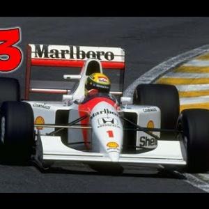 Ayrton Senna's Super Monaco GP 2: Part 3 - Choose my Rival
