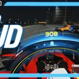 F1 2019 TV STYLE HALO HUD