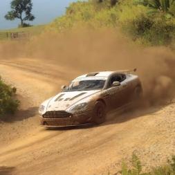 Dirt Rally 2: Aston Martin V8 Vantage @ New Zealand (Te Awanga)