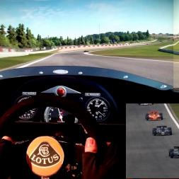 pC2 - Nurburgring - Lotus 78 - 100% AI race