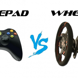 Gamepad vs Wheel: Which is faster?