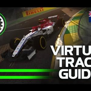 2019 F1 Australian Grand Prix Virtual Track Guide | Albert Park, Melbourne