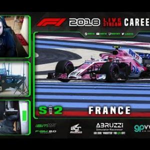 F1 2018 LIVE Career Mode #29 Circuit Paul Ricard, France