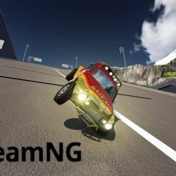 BeamNG Drive: Car Jump Arena Shenanigans!