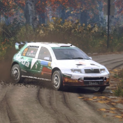 DiRT Rally 2.0   Škoda Fabia WRC   USA SS Fuller Mountain Descent Wet 2:53.457 WORLD RECORD