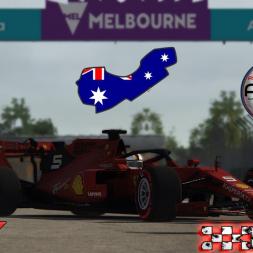 Assetto Corsa * ACFL F1 2019 * Melbourne Hotlap + setup [1:19:698]