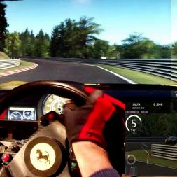 AC - Nordschleife - Ferrari F60 America - Track day