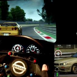 AC - Monza - Nissan R34 GTR - Online race