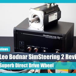 RDTV: Leo Bodnar SimSteering2 Direct Drive Wheel Review