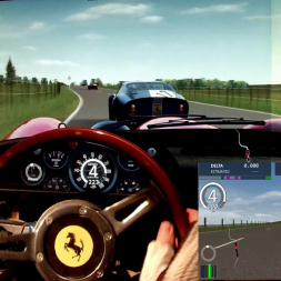 AC - Evo Triangle (anticlockwise) - Ferrari 250 GTO - 100% AI race