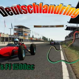 Assetto Corsa * 60's F1 1500cc * Deutschlandring [out now]