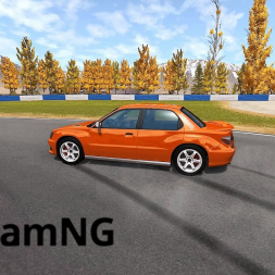 BeamNG Drive: Trying to drift!!