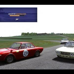 Course en Lancia Fluvia - Circuit de Faveyrol