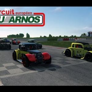 Course en Legends Cars - Circuit de Pau-Arnos