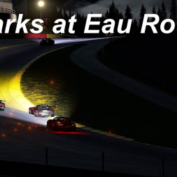 Sparks at Eau Rouge - Assetto Corsa