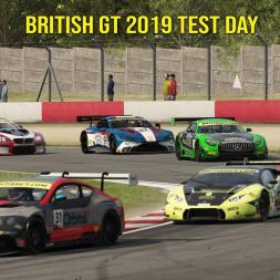 British GT 2019 Test Day Assetto Corsa