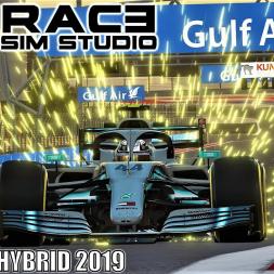 RSS Formula Hybrid 2019 HOTLAP at Bahrain - Assetto Corsa - 4K