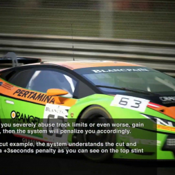 Assetto Corsa Competizione Penalties Explained | SRO E-Sport GT Series