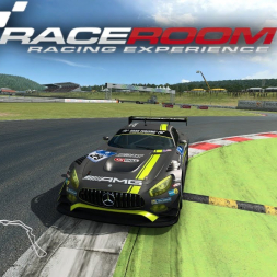 R3E | MP Hotlap in a Test Race Mercedes AMG GT3 @Most