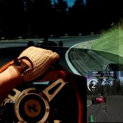 AC - Deutschlandring - F1 1500cc Ferrari 156 - 100% AI race