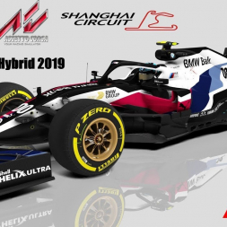 RSS Formula Hybrid 2019 - 20 laps race II @ Shanghai International Circuit - China F1 GP
