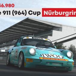 RaceRoom - Porsche 911 (964) Carrera Cup @ Nürburgring Short - 1:36.980