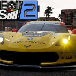 Project CARS 2 - Corvette C7 R at Long Beach (PT-BR)