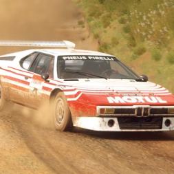 DiRT Rally 2.0 | BMW M1 Procar Rally | New Zealand SS Elsthorpe Sprint Reverse 3:35.418