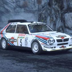 DiRT Rally 2.0 | Lancia Delta S4 | Monte Carlo SS Gordolon - Courte montée 3:14.012