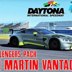 Aston Martin Vantage GT3 HOTLAP at Daytona Roadcourse - GT3 Challengers Pack - rFactor 2 - 4K
