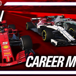 F1 2019 Modded Career Mode | HOW CAN WE FIGHT LIKE THIS!!!
