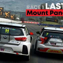 RaceRoom - RRLeagues WTCR @ Bathurst Race 1 Last Lap