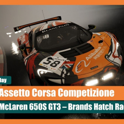 Mighty Track! Brands Hatch and the McLaren 650S GT3  - Assetto Corsa Competizione