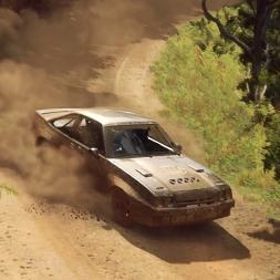 Dirt Rally 2: Opel Manta 400 @ New Zealand (Waimarama Point Forward)