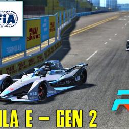 Formula E Gen 2 RELEASED! - rFactor 2 - 4K