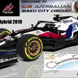 RSS Formula Hybrid 2019 - 15 laps race @ Baku Azerbaijan - Track recording