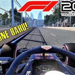 F1 2018 - Baku HOTLAP - 4K Ultra Graphics Gameplay