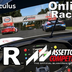 Assetto Corsa Competizione - VR - Chaotic first online race after getting safety rating