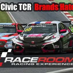 RaceRoom - Honda Civic TCR   Brands Hatch Indy