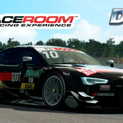 Raceroom - DTM at Hockenheim (PT-BR)