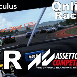 Assetto Corsa Competizione - VR Online - 20th to the podium on a public lobby with no contact
